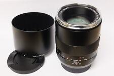 Zeiss macro planar 2,0/100 ze t * lente para Canon EOS usado pero como nuevo