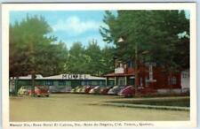 STE. ROSE DU DÉGELE, QUEBEC Canada  Roadside MANOIR STE. ROSE HOTEL  Postcard