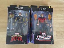 Marvel legends Quasar and Nova  (The Man Called Nova) lot