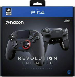 Nacon Revolution Unlimited Pro Wireless Controller for Playstation PS4 PC & Mac