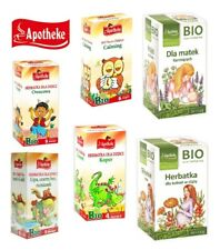 Apotheke BABY CHILD TEA BIO Fruit Fennel Chamomile Calming Immunity Nursing tea
