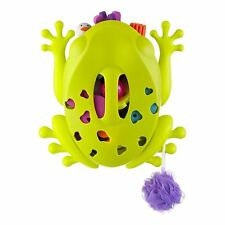 Boon Frog Pod Stores & Organizes bath accessories Wall Mounted Base