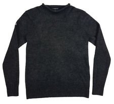 SUPERDRY The Spinnaker Knit Lammwolle Damen Strick Gr L Pullover #M61LY013