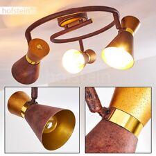 Plafonnier Retro Lampe à suspension Lustre Rouille/Doré Lampe de corridor 185519