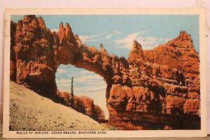 Utah UT Southern Cedar Breaks Jericho Walls Postcard Old Vintage Card View Post