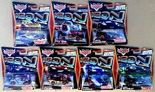 Lot of 7 Disney Pixar Cars 2 Neon Racers Shu Lewis Miguel Nigel Raoul Max LMQ