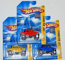 2008 HOT WHEELS RLC FACTORY SET NEW MODELS HUMMER H2 SUT  ALL 3 COLORS