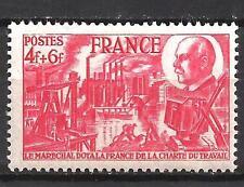 France 1944 Yvert n° 608 neuf ** 1er choix