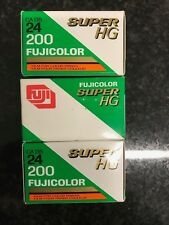 3 x Fujifilm Super HG 200 35mm expired film