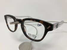 NEW KENZO KZ 4182 C02 Eyeglass Frames 46/23/145 Flex Hinge Havana/Clear 4377