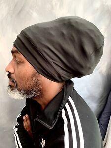 rasta tam Rasta turban black Rasta hat stretch turban nyabinghi turban rastaman