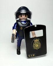 PLAYMOBIL ☆ CUSTOM SERIE POLICIA ☆ CUERPO NACIONAL POLICIA - UIP#2