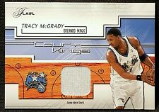 2002-03 Flair TRACY MCGRADY TMAC COURT KINGS GAME USED SHORTS #CK-TM MAGIC Team