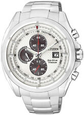 Citizen Eco-Drive Mens Super Titanium Chronograph with Sapphire Glass CA0550-52A