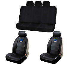 9pc Sideless Seat Covers & U.A.A. Inc. Racing Style Beach Cover Set for Mopar