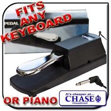PIANO KEYBOARD SUSTAIN PEDAL FOR CASIO, YAMAHA & MORE !