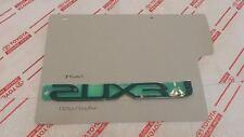 *NEW LEXUS IS250/350/ISF TRUNK EMBLEM CHROME BADGE 2006-2010 OEM IS350 LUGGAGE