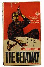 THE GETAWAY by JIM THOMPSON ~ First Edition 1959 ~ 1st Steve McQueen Film Noir