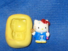 Hello Kitty Silicone Mold Flexible Resin Clay Candy Food Safe 639 Fondant