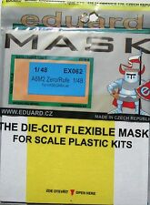 Eduard 1/48 EX062 Canopy Mask for the Hasegawa Mitsubishi A6M2 Rufe (Zero) Kit