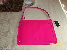 AUTHENTIC Juicy Couture PINK Crest Pouch/Handbag YSRU2816 NWT $68 SO PRETTY!!!