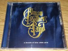 """THE ALLMAN BROTHERS BAND  """"A Decade Of Hits 1969-1979""""    NEW  (CD,1991/2000)"""