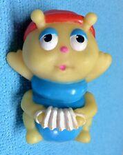 Vtg Hasbro Playskool Glow Worm Glo Friends Glo Cricket Finger Puppet Glows #2