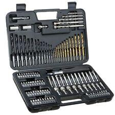 Drill Bit 109 Pieces Holder Hex Phillips Torx HSS Masonry Screwdriver Socket Set