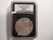 2012-W american eagle silver dollar coin AS SHOWN *4127