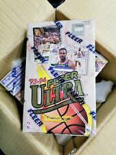 1993-94 Fleer Ultra Basketball Series 1 Sealed Hobby Box (SEC101)