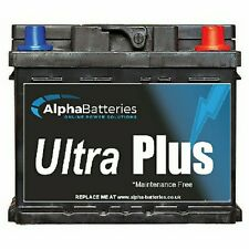 Alfa Romeo 156 Petrol Heavy Duty Car Battery 4 Year Gtee (All Years) (075)