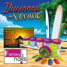 fantasy nail Sinaloa Summer Acrylic collection  (free 2 decorations)