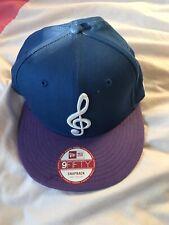 New era Music Note Purple & Blue Snapback Cap 9fifty