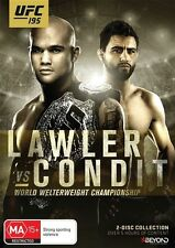UFC #195 - Lawler Vs Condit (DVD, 2016, 2-Disc Set) Region 4