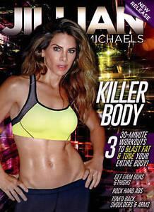 Jillian Michaels: Killer Body DVD Fitness Training Workout Exercise Video NEW