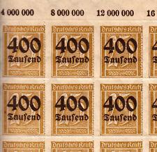 Briefmarken Deutsches Reich Michel 298   1 Bogen komplett 100 Stk ** <<<<<<<<<<
