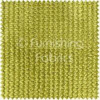 Soft Wave Ripple Cord Sofa Cushion Fire Treated Upholstery Fabric Lime Green