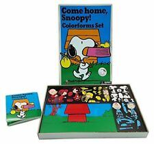 16583e7d20a7 Colorforms Retro Come Home Snoopy New Edition of Classic Toy