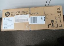 New Sealed HP Passport 1912nm 18.5-Inch Screen LCD Internet Monitor