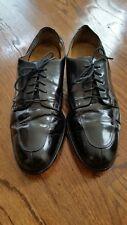 Cole Hann Leather Black Split Toe Oxfords Men Shoes 10.5 D