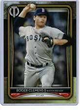 Roger Clemens 2020 Topps Tribute 5x7 Gold #20 /10 Red Sox