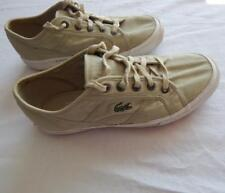 Ladies Lacoste Lace Up Trainers Rubber Anti Slip Sole Size 5.5 UK (S437)