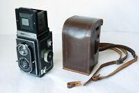 1937 Zeiss Ikon Ikoflex II 852/16 TLR Camera Tessar 7.5cm F3.5 Lens Working Well