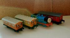 Vintage Thomas & Friends ERTL Train 2001 Annie Clarabel 1987 Mail Coach 1995