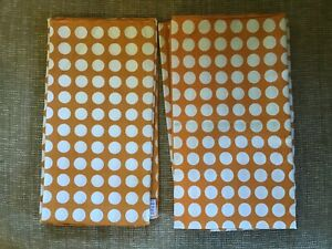 NEW anthropologie table Linens ❀ RETRO style cotton NAPKINS set (6)