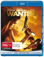 Wanted (Blu-ray, 2008) Angelina Jolie.