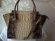 $425 NWT Brahmin Priscilla Veranda Satchel /Shoulder Bag Melbourne Leather