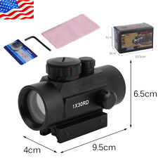 New Dot Sight Scope For Pistol Red Green Laser+2 Covers 20mm +Battery Ser