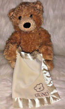 Baby Gund Peek a Boo Bear with blanket - Says 6 phrases - moves arms to play