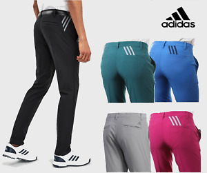 New ADIDAS Mens Ultimate 365 & Climacool 3-Striped Golf Trousers Black Navy Grey